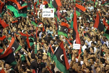 Libyans  Celebrate the Liberation