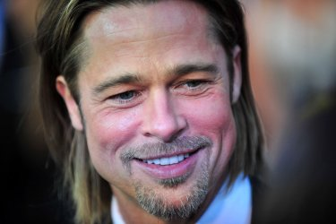 Brad Pitt arrives for the 84th Academy Awards in Los Angeles