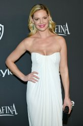 Katherine Heigl attends the InStyle and Warner Brothers Golden Globes after party