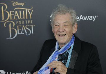Ian McKellen at Beauty And The Beast screening in New York
