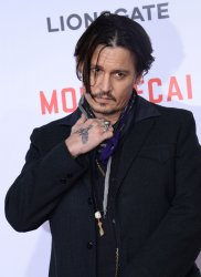 """Mortdecai"" premiere held in Los Angeles"