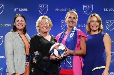 St. Louis is awarded Major League Soccer team