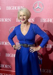 Helen Mirren attends the Palm Springs International Film Festival in Palm Springs, California