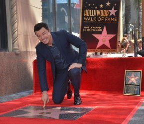 Seth MacFarlane gets star on Hollywood Walk of Fame in Los Angeles