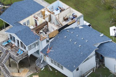 Hurricane Harvey Damage in Port Aransas, Texas