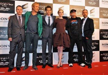 """""""The Amazing Spider-Man"""" World premiere in Tokyo"""