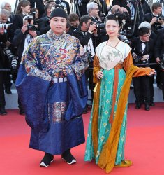 The red carpet at the Cannes Film Festival
