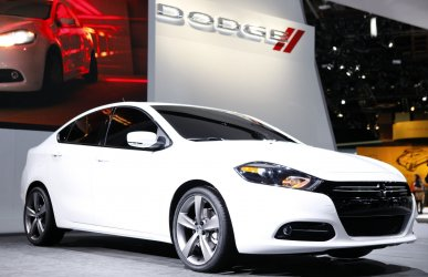 The New Chrysler Dodge Dart at the 2012 NAIAS in Detroit.