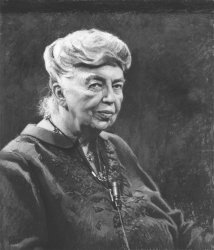 Eleanor Roosevelt at old age