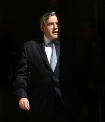 GORDON BROWN LEAVES NO.10 FOR 2009 BUDGET
