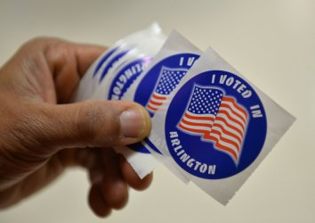 Voters Cast Ballots on Super Tuesday in Virginia