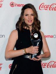 Jennifer Garner arrives at the CinemaCon Big Screen Achievement Awards Ceremony in Las Vegas