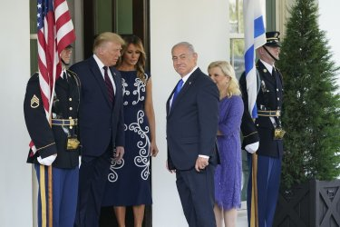 Trump Welcomes Prime Minister Benjamin Netanyahu of Israel to the White House