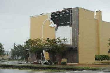 Hurricane Irene damage to North Carolina
