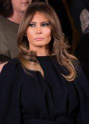 First Lady Melania Trump in Washington