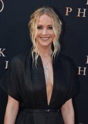 """Jennifer Lawrence attends the """"Dark Phoenix"""" premiere in Los Angeles"""