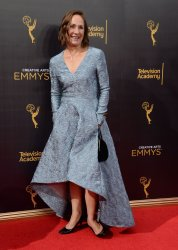 Laurie Metcalf attends the Creative Arts Emmy Awards in Los Angeles