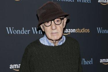 Woody Allen  at 'Wonder Wheel' screening