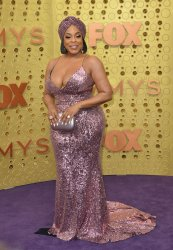 Niecy Nash attends Primetime Emmy Awards in Los Angeles