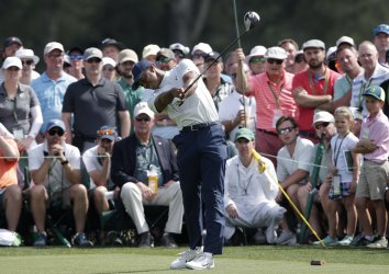 Second Round at the 2019 Masters Tournament in Augusta