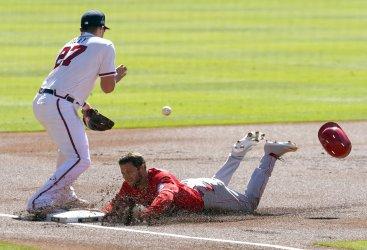 Cinncinnati Reds vs Atlanta Braves in Atlanta