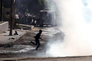 Clashes Near Cairo's Tahrir Square