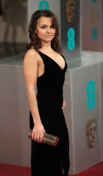 Samantha Barts arrives at the Baftas Awards Ceremony