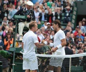 Richard Darcis Beats Rafael Nadal at 2013 Wimbledon Championships