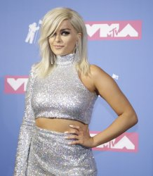 Bebe Rexha at the MTV Video Music Awards in New York