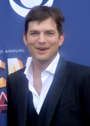 Ashton Kutcher attends the 53rd annual Academy of Country Music Awards in Las Vegas
