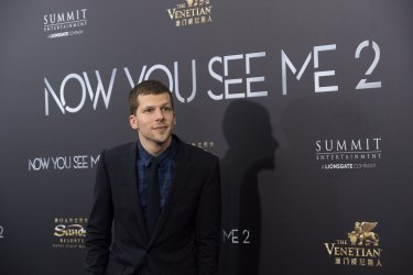 """Jesse Eisenberg arrives at the """"Now You See Me 2"""" World Premiere"""