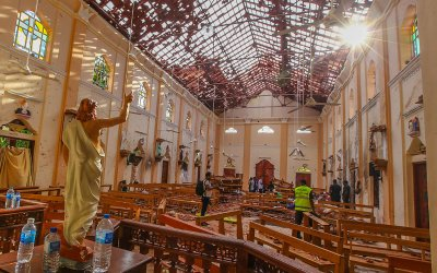 Mass Casualties in Churches and Hotels in Sri Lanka  Bombings