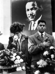 Rev. Martin Luther King Jr. '87 ceremony marking the 58th anniversary of King's death.