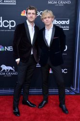 Rocky Lynch and Ross Lynch attend the 2019 Billboard Music Awards in Las Vegas
