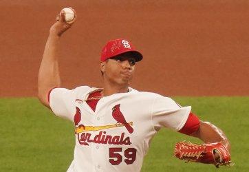 St. Louis Cardinals Starting Pitcher Johan Oviedo