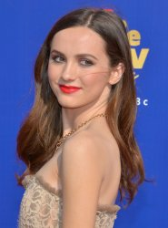 Maude Apatow attends the MTV Movie & TV Awards in Santa Monica, California