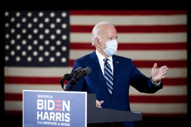 Joe Biden Campaigns in Florida