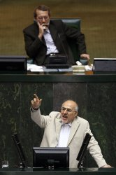 Impeachment session for Iranian Interior Minister in Iran's parliament