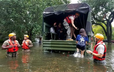Hurricane Harvey Rescue Operations in Texas