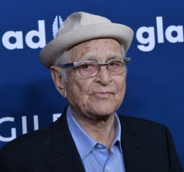 Norman Lear attends the 29th annual GLAAD Media Awards in Beverly Hills, California