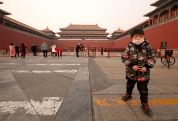 The Forbidden City is closed due to the coronavirus scare in Beijing, China