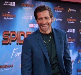 "Jake Gyllenhaal attends the ""Spider-Man: Far From Home"" premiere in Los Angeles"