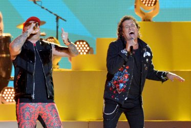 Wisin and Carlos Vives perform at the Billboard Latin Music Awards in Las Vegas