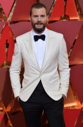 Jamie Dornan arrives for the 89th annual Academy Awards in Hollywood