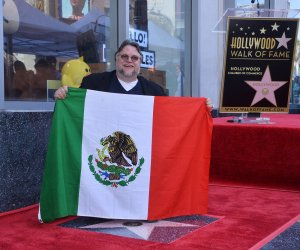 Guillermo del Toro gets star on Hollywood Walk of Fame in Los Angeles..