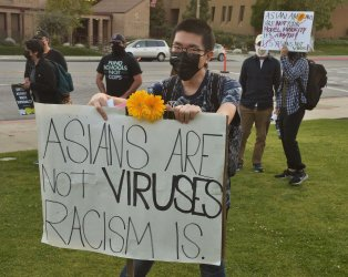 March and Rally in El Monte Takes Aim at Anti-Asian Violence and Hate