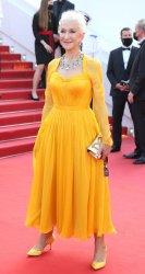 Helen Mirren attends the Cannes Film Festival