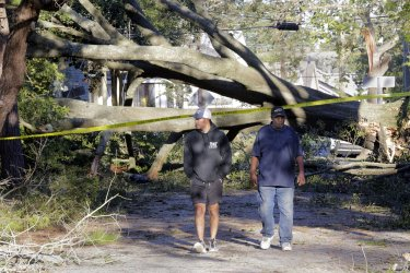 New Orleans cleans up after Hurricane Zeta