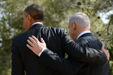 Obama Visits Israel's National Cemetery Mount Herzl