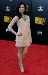 Demi Lovato arrives at the 37th American Music Awards in Los Angeles